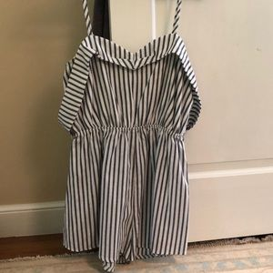 Off the shoulder LF romper